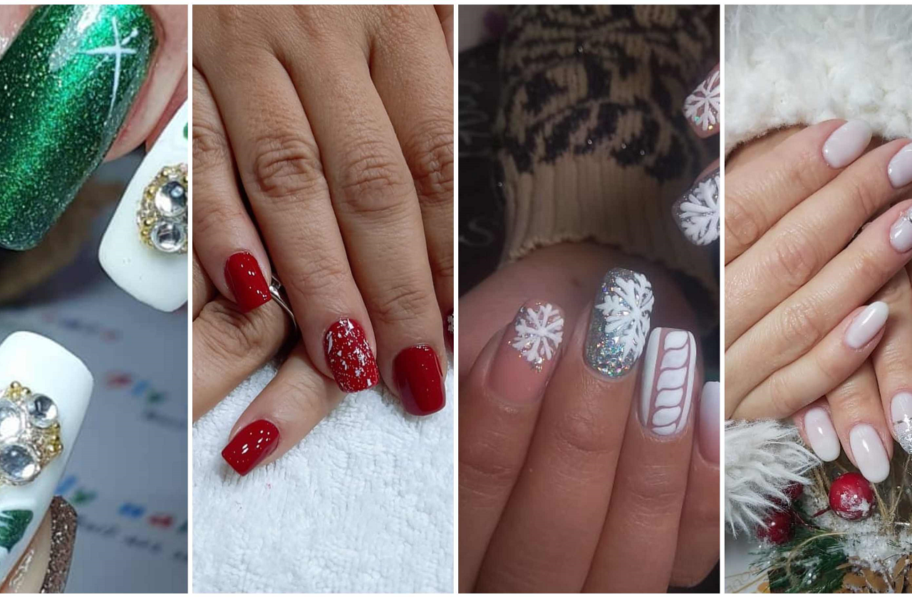 These 10 Christmas Nail Designs By Egyptian Salons are Too Good To Miss