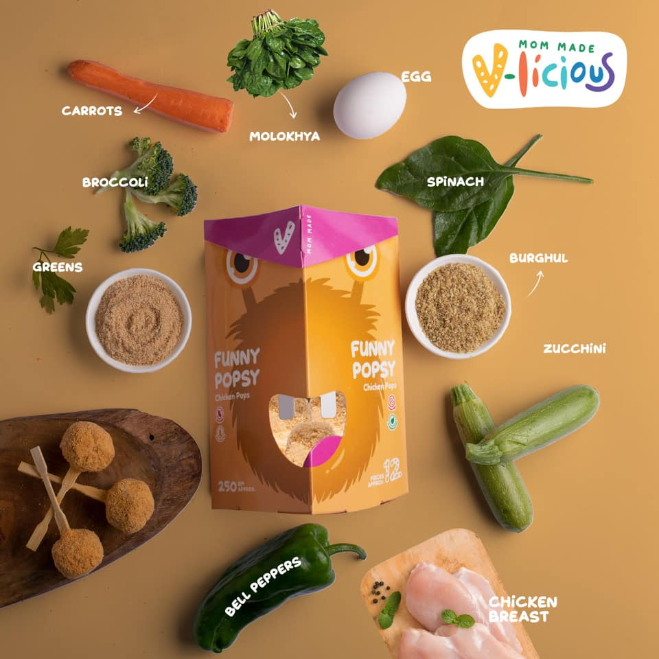 V-licious: The Yummy Egyptian Finger Food Brand That has Plenty of Veggies for Your Kids!
