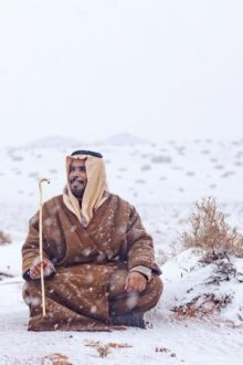 """Dear Saudis … Brace Yourselves for Some Cold """"Icy"""" Weather These Couple of Days!"""