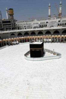 Saudi Arabia Imposes 24hrs Curfew in Mekkah and Madina to Limit Coronavirus Spread