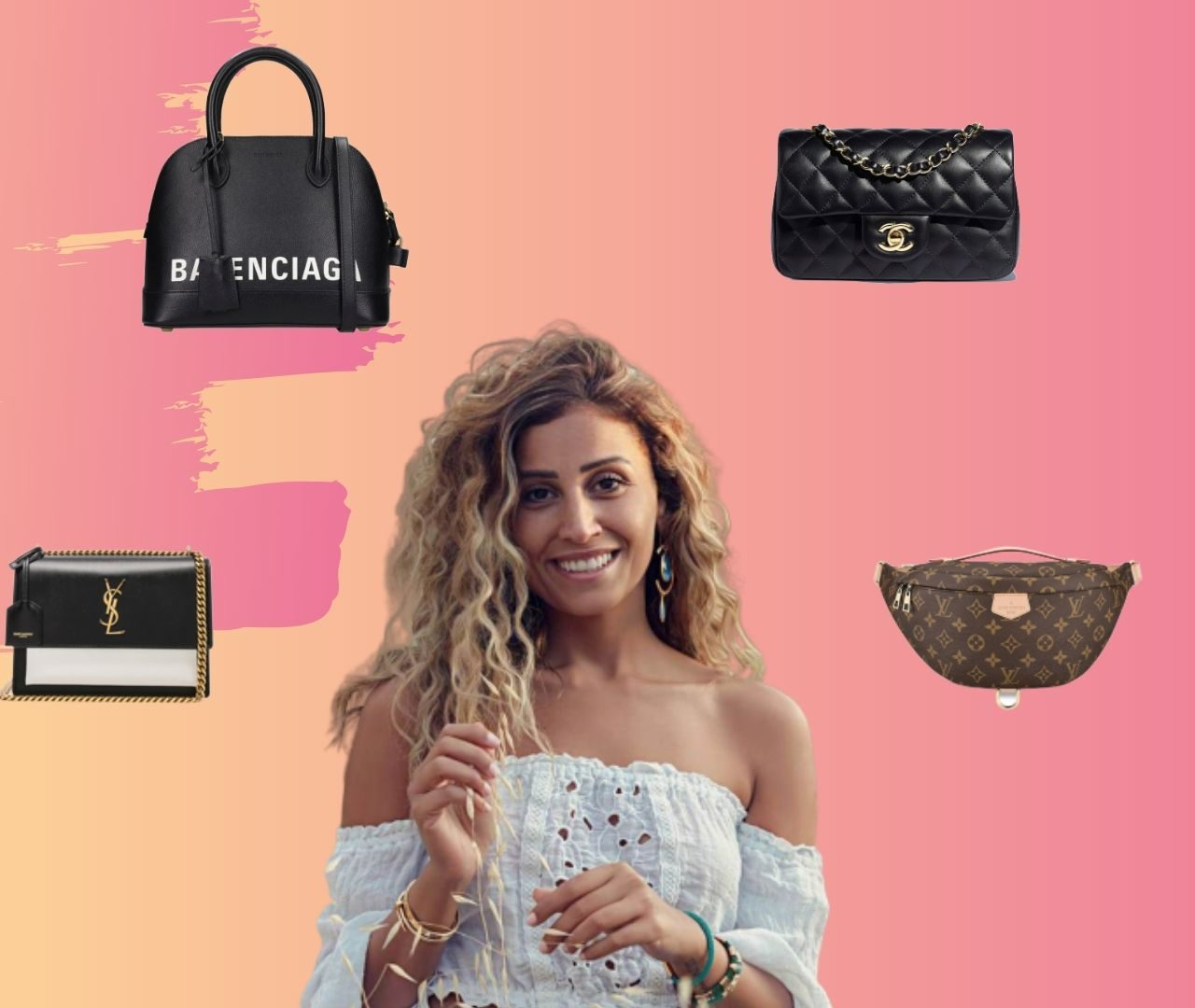 "Here Are All The Bags Dina El Sherbiny Wore in ""Le3bet EL Nesyan"" So Far!"
