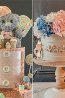 Marwa Sadek, the Master Behind These Fondant Cakes That Are Too Good to Be Eaten!