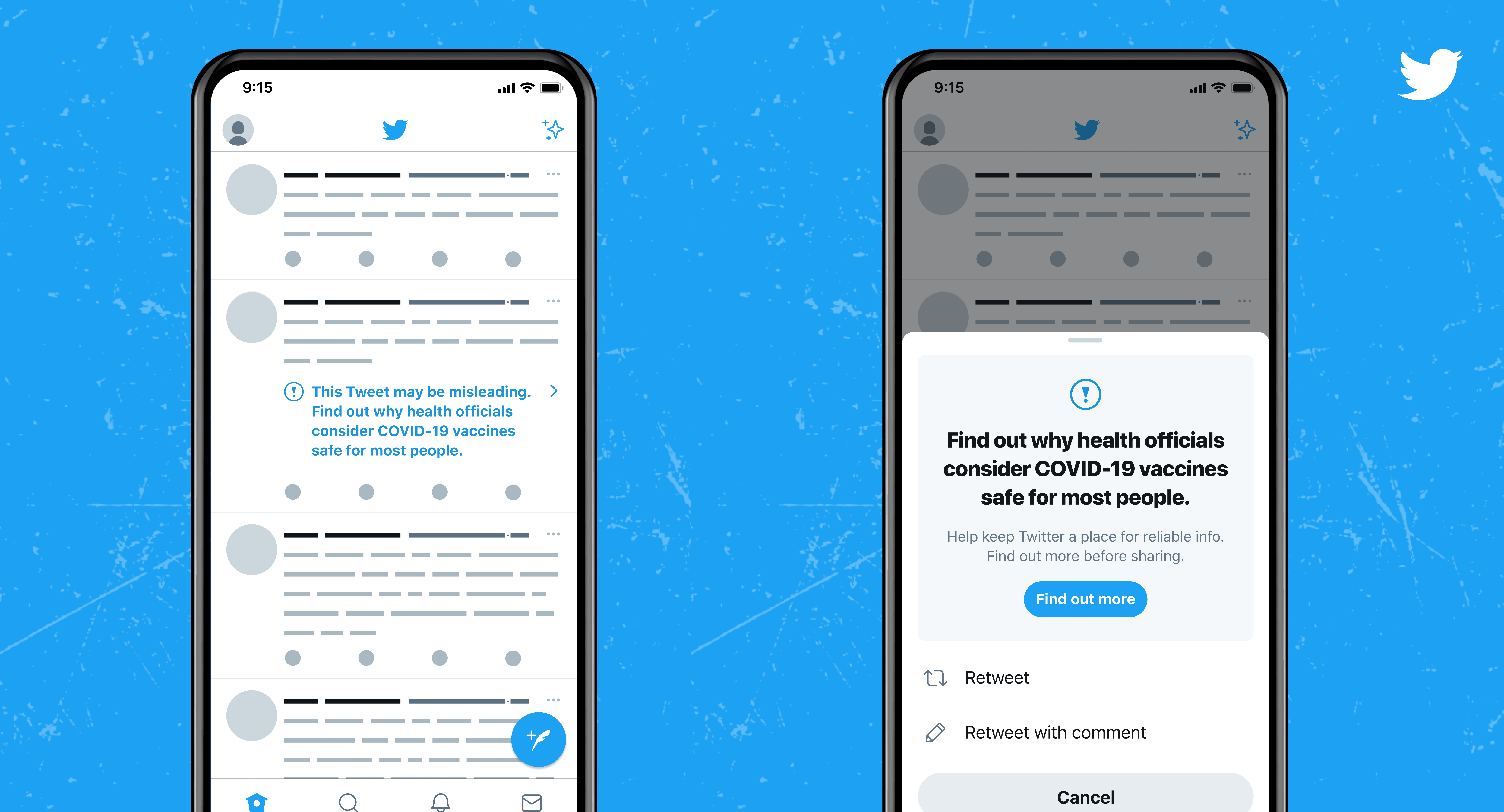 As the distribution of COVID-19 vaccines expands, people continue to turn to Twitter to find the latest authoritative public health information. Continuing its efforts to remove harmful and misleading information from the platform