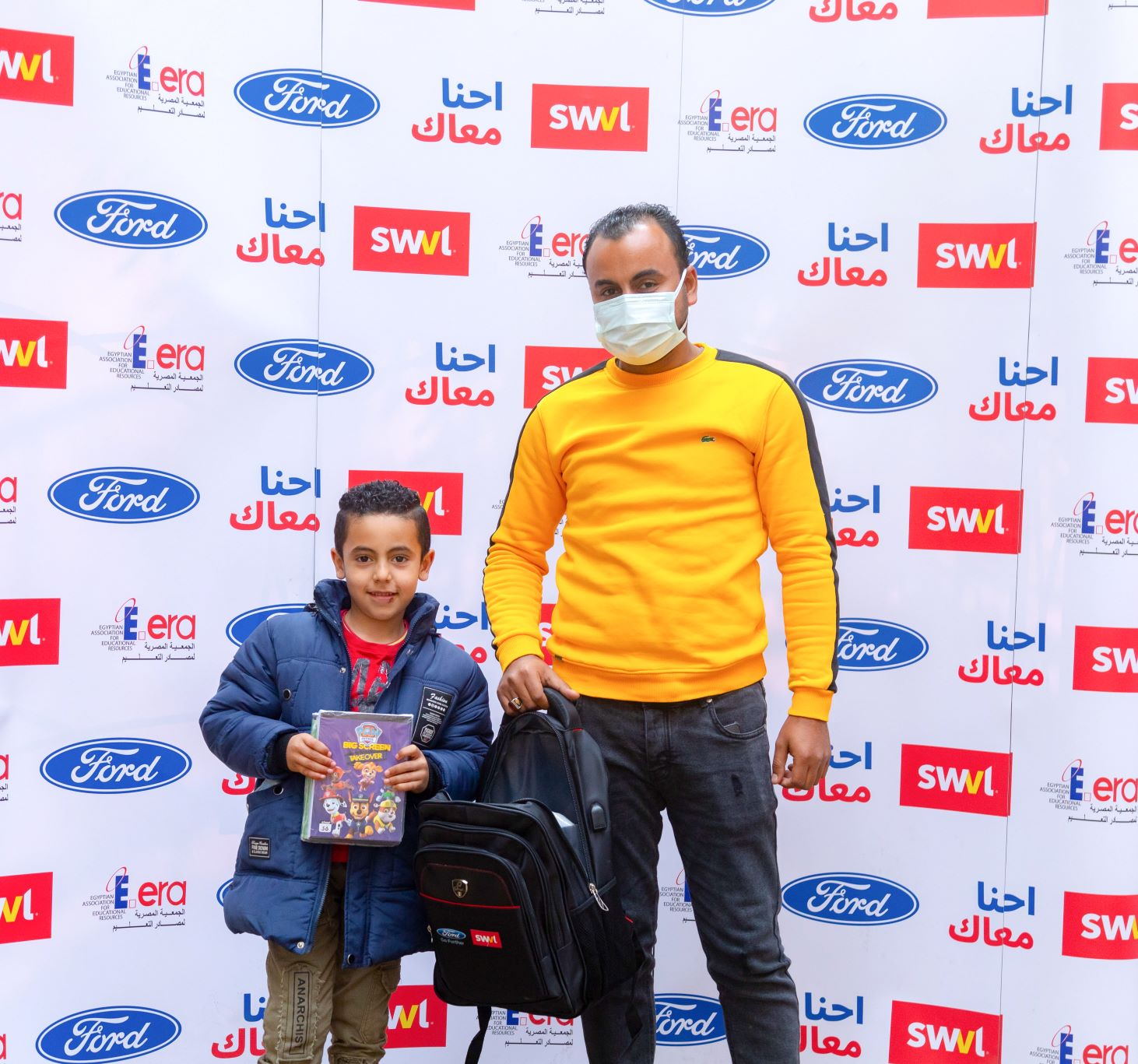 Ford and Ford Fund Donate EGP600,000 For Vital Education and Healthcare Supplies for SWVL Captains Children as They Return to School for The Second Academic Period