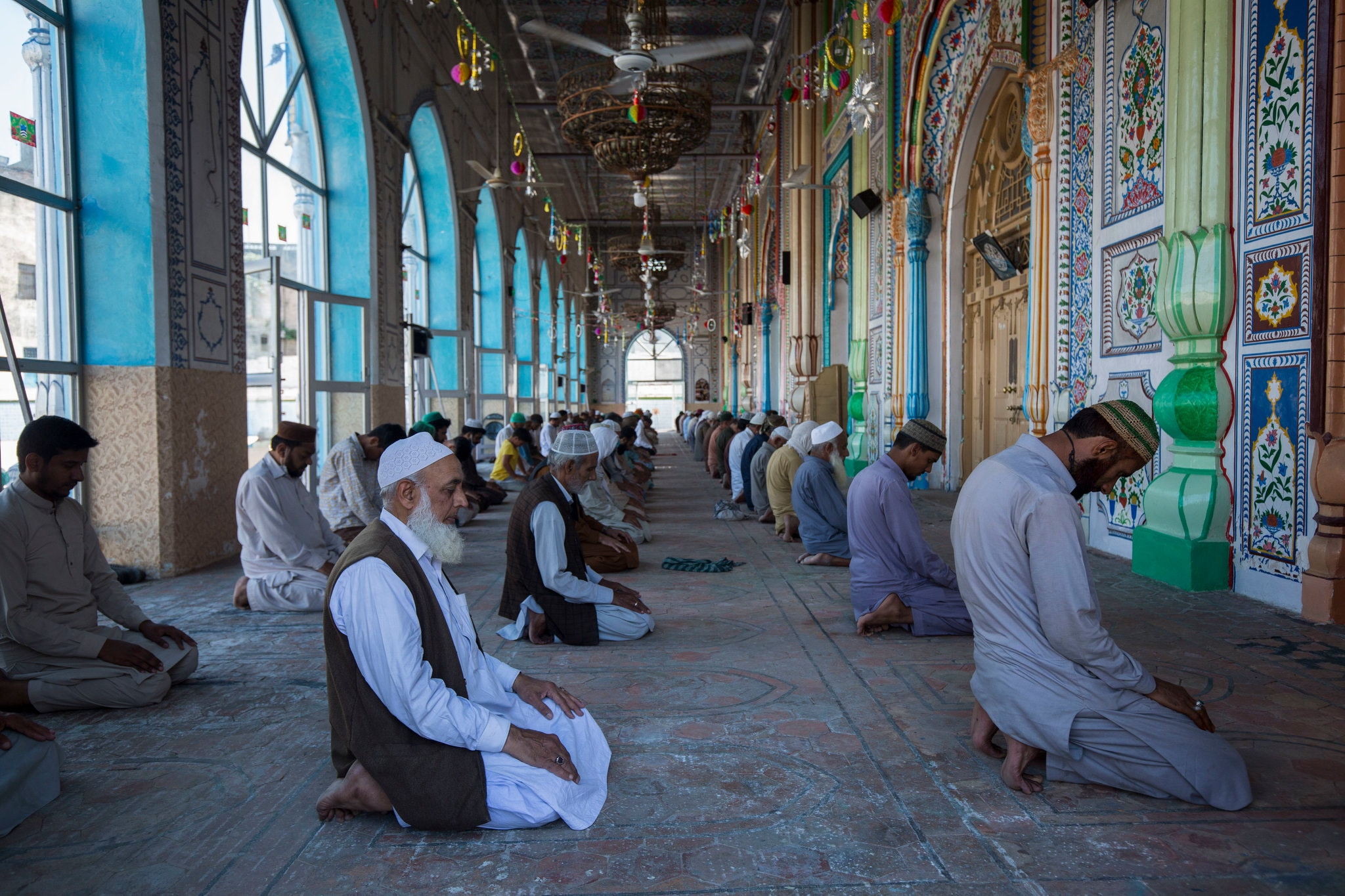 Al Duhr prayer in the holy month, Pakistan.