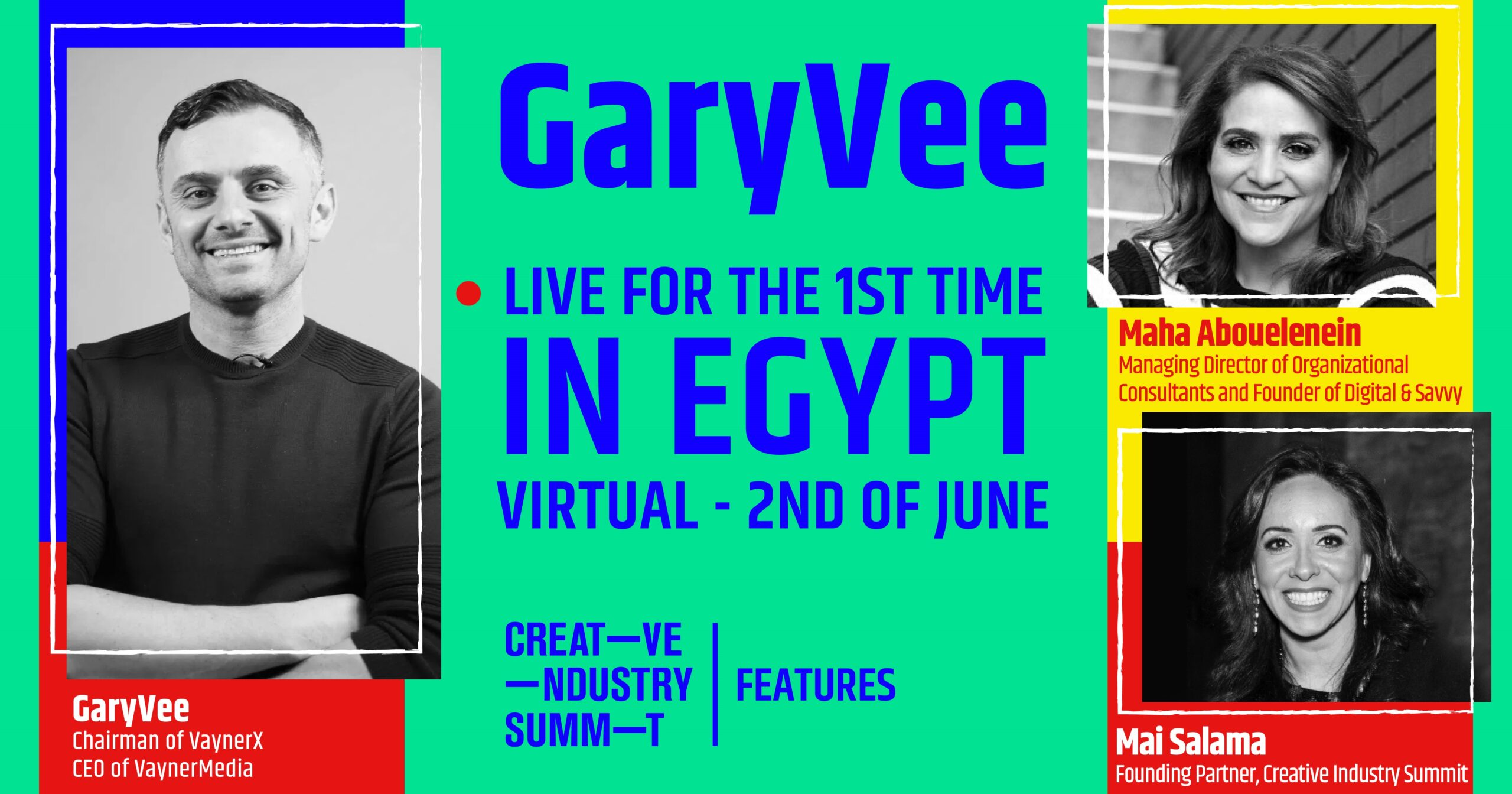 GaryVee Live for the First Time in Egypt Exclusively with Creative Industry Summit |Features
