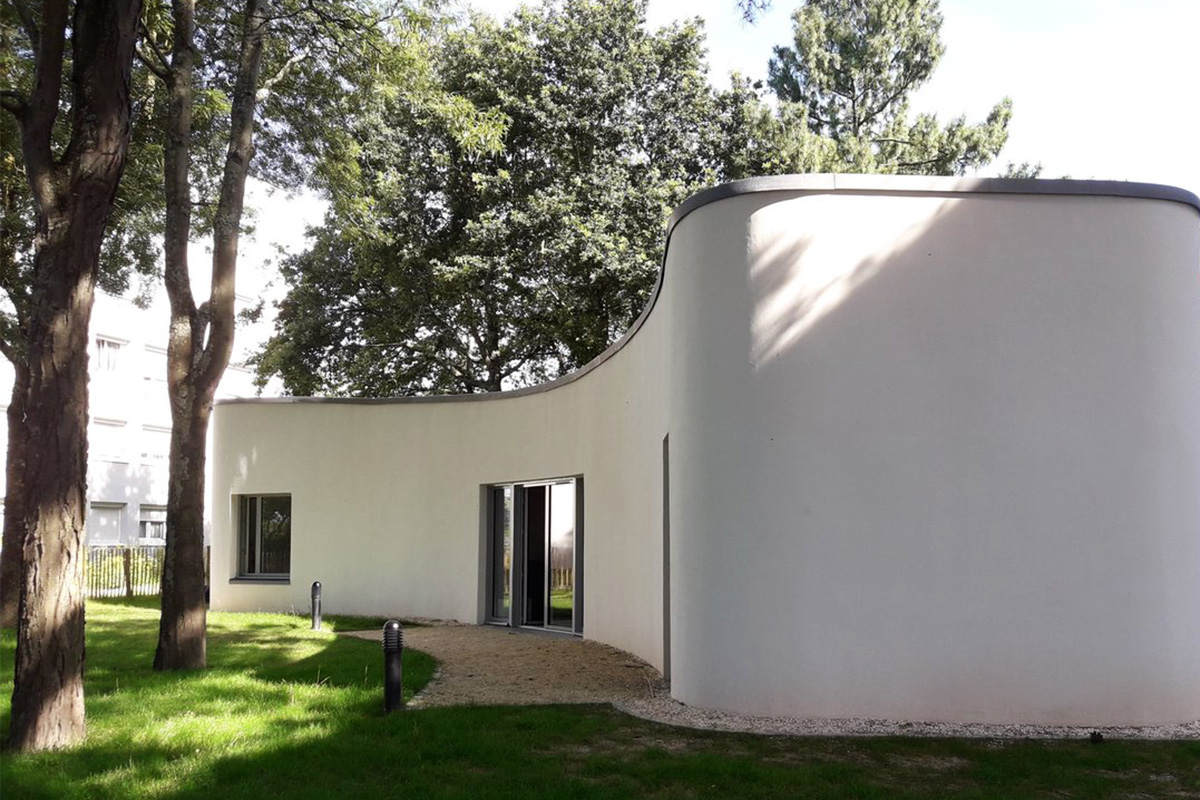 Simulation Video Games Are a Reality Now – This 3D-Printed House Got Its First Tenants.