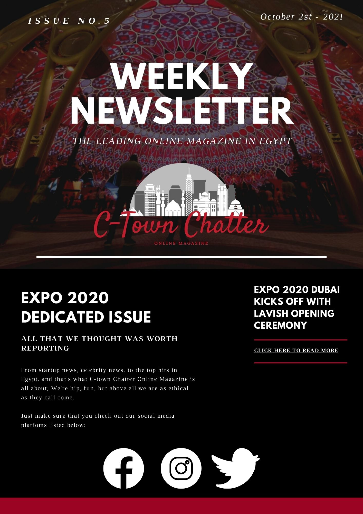 C-Town Chatter Newsletter - EXPO 2020